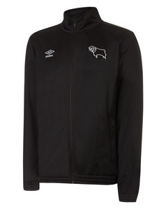 View the DERBY COUNTY FZ TRICOT JACKET from the Club Shops collection