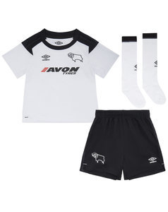 View the DERBY COUNTY 17/18 HOME BABY KIT from the Clubs collection