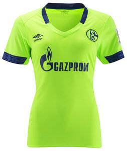 View the FC SCHALKE 04 18/19 WOMENS THIRD JERSEY from the Sale collection