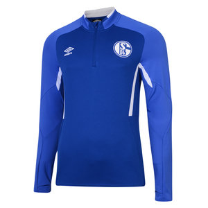 FC SCHALKE 04 19/20 JUNIOR HALF ZIP TOP