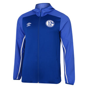 FC SCHALKE 04 19/20 JUNIOR HOODED JACKET