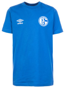 View the FC SCHALKE 04 CREW NECK TEE from the Club Shops collection