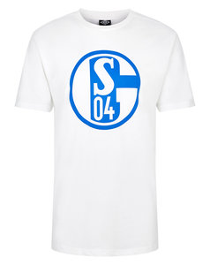 FC SCHALKE 04 JUNIOR LARGE LOGO CREW NECK TEE