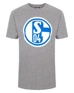 View the Kid's FC SCHALKE 04 JUNIOR LARGE LOGO CREW NECK TEE from the kid's  collection