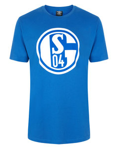 View the FC SCHALKE 04 LARGE LOGO CREW NECK TEE from the Club Shops collection