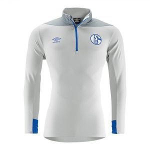 FC SCHALKE 18/19 JUNIOR HALF ZIP TOP