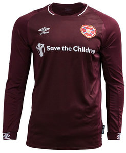 View the HEARTS FC 18/19 HOME LS JERSEY from the Clubs collection