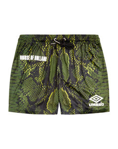 HOUSE OF HOLLAND SNAKE PRINT SHORTS