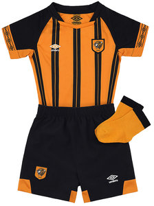 View the HULL CITY 18/19 HOME BABY KIT from the Club Shops collection