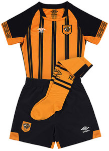 View the HULL CITY 18/19 HOME INFANT KIT from the Clubs collection