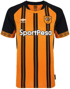 View the HULL CITY 18/19 HOME SHIRT from the Clubs collection