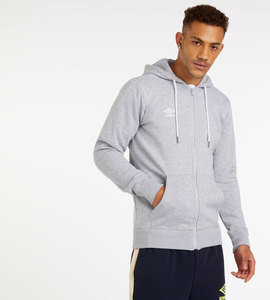 LARGE LOGO ZIP THROUGH HOODIE