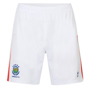 LINFIELD FC 17/18 JUNIOR HOME SHORTS