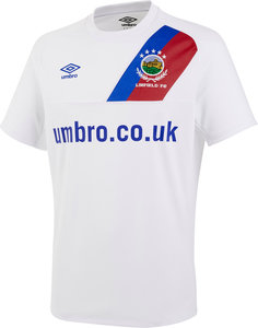 LINFIELD FC 17/18 JUNIOR AWAY SHIRT