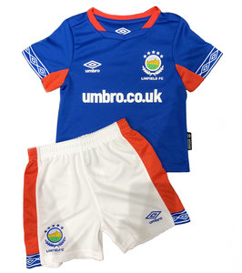 LINFIELD FC 19/20 BABY/INFANT KIT