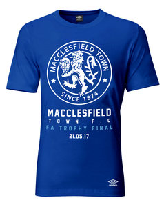 View the MACCLESFIELD TOWN FC FA TROPHY T-SHIRT from the Clubs collection