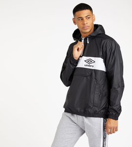 PANELLED 1/2 ZIP CAGOULE