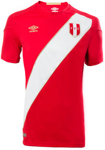 View the PERU AWAY WORLD CUP JUNIOR SHIRT from the Club Shops collection