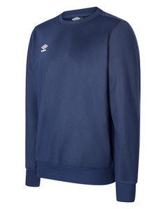 Umbro Fleece Half Zip Junior Long Sleeve Training Top Navy