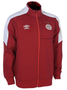 View the PSV 17/18 WALK OUT JACKET from the Clubs collection