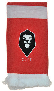 View the SALFORD CITY FC CREST SCARF from the Clubs collection