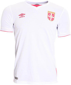 SERBIA JUNIOR AWAY SS SHIRT