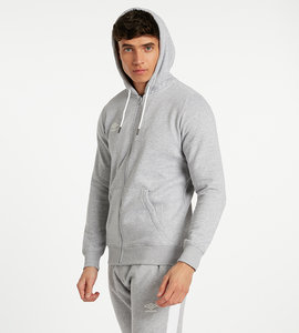 SMALL LOGO ZIP THROUGH HOODIE