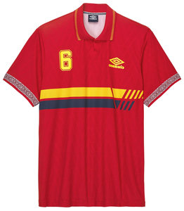 View the SPAIN FOOTBALL JERSEY from the Collections collection