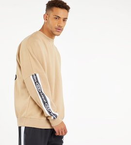 TAPED DROP SHOULDER SWEAT