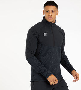 THERMAL HYBRID HALF ZIP TOP