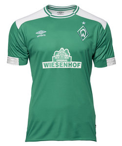 View the WERDER BREMEN 18/19 HOME SHIRT from the Clubs collection