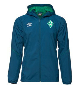 View the WERDER BREMEN 18/19 SHOWER JACKET from the Clubs collection