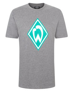 View the WERDER BREMEN JUNIOR LARGE LOGO CREW NECK TEE from the  collection
