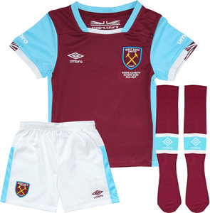 View the WEST HAM UTD 16/17 HOME INFANT KIT from the Clubs collection