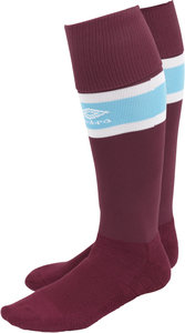 View the WEST HAM UTD 16/17 HOME SOCK from the Clubs collection