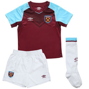 View the Kid's WEST HAM UTD 17/18 HOME INFANT KIT from the kid's  collection