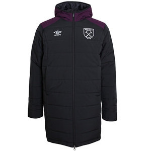 View the WEST HAM UTD 17/18 JUNIOR TRAINING PADDED JACKET from the Clubs collection