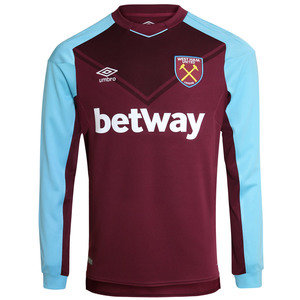 View the WEST HAM UTD 17/18 LS HOME SHIRT from the Clubs collection