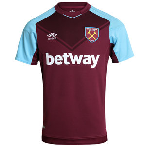 View the WEST HAM UTD 17/18 SS HOME SHIRT from the Clubs collection