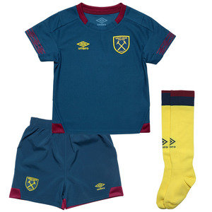 View the Kid's WEST HAM UTD 18/19 AWAY INFANT KIT from the kid's  collection