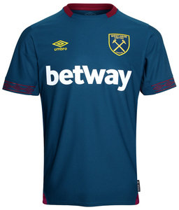 cef5d4ca5c0 View the WEST HAM UTD 18 19 AWAY SHIRT from the Club Shops collection