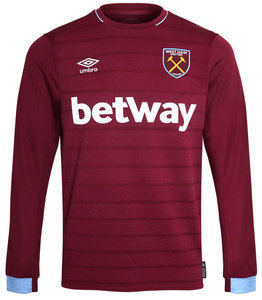 View the Women's WEST HAM UTD 18/19 LS HOME SHIRT from the women's  collection