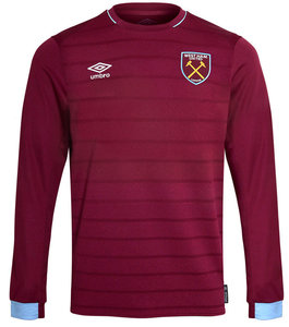 View the WEST HAM UTD 18/19 LS HOME SHIRT JUNIOR from the Club Shops collection