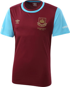 View the Women's WEST HAM UTD 15/16 JUNIOR HOME SHIRT from the women's  collection