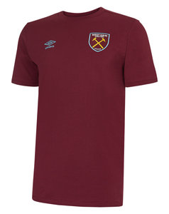 View the Women's WEST HAM UTD LOGO COTTON TEE from the women's  collection
