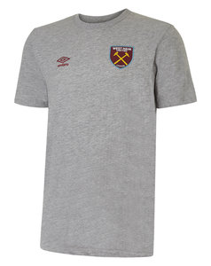 View the WEST HAM UTD LOGO COTTON TEE from the Clubs collection