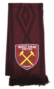 WEST HAM UTD TAPED SCARF