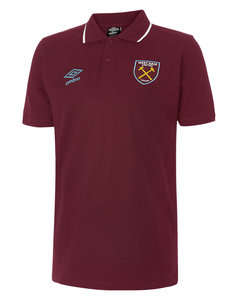 View the WEST HAM UTD TIPPED POLO from the Clubs collection