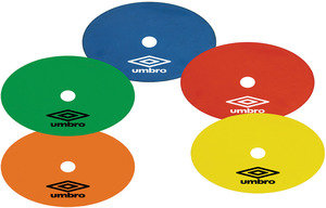 View the UMBRO FLAT MARKERS (10) from the Equipment collection