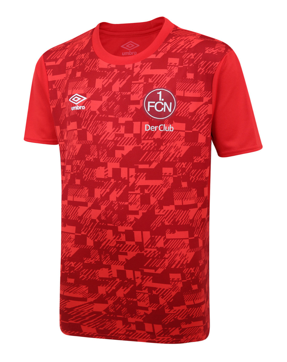 1. FCN 20/21 WARM UP JERSEY JUNIOR